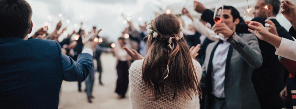 wedding sparkle send-off